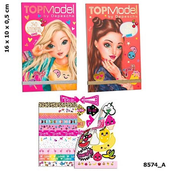 Блокнот с наклейками TOP Model OMG - 8574_A производства Depesche