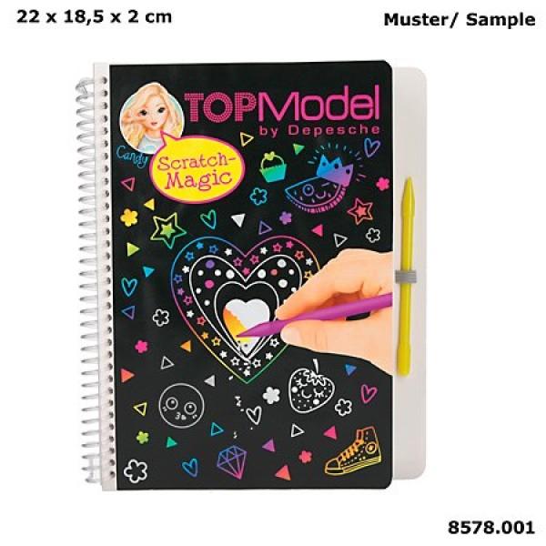 Альбом TOPModel для творчества Магия Царапин - 8578_A производства Depesche