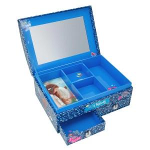 Шкатулка с зеркалом, голубая Miss Melody - 8598_A производства Depesche