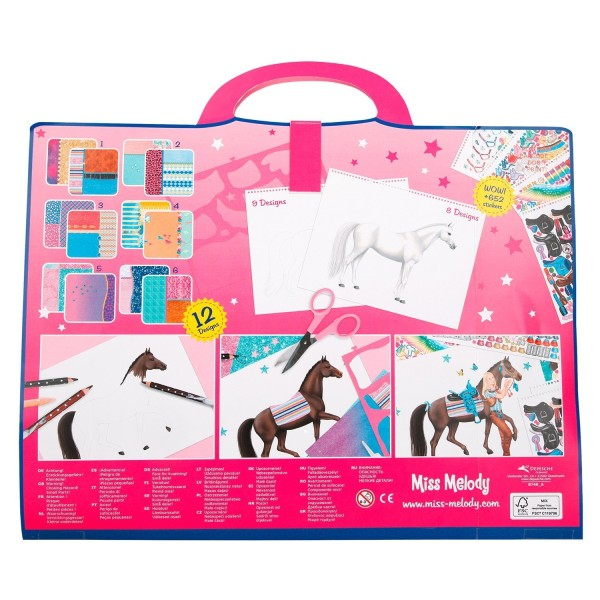 Альбом для раскрашивания Лошадь мечты Miss Melody - 8746.001