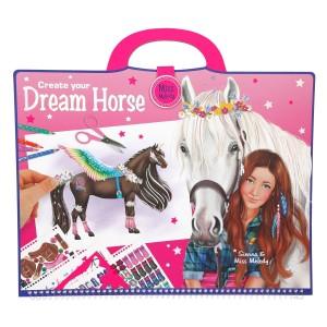 Альбом для раскрашивания Лошадь мечты Miss Melody - 8746_A