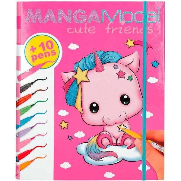 Альбом TOPModel Manga для творчества с фломастерами - 8766_A производства Depesche