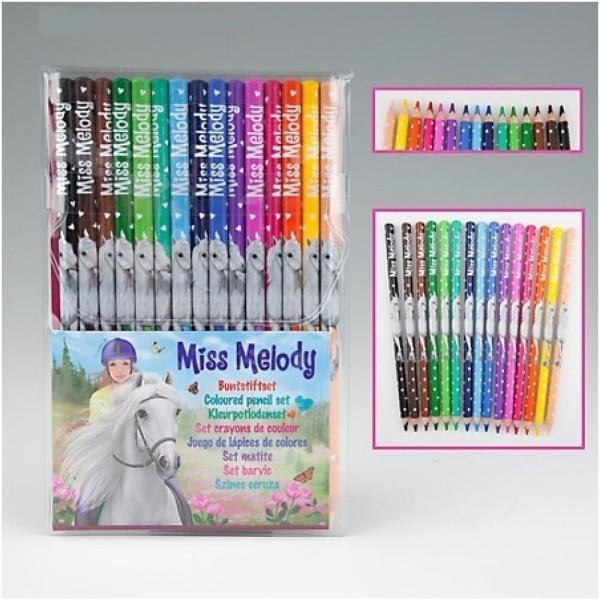 Карандаши цветные Miss Melody , 15 штук - 8806 производства Depesche