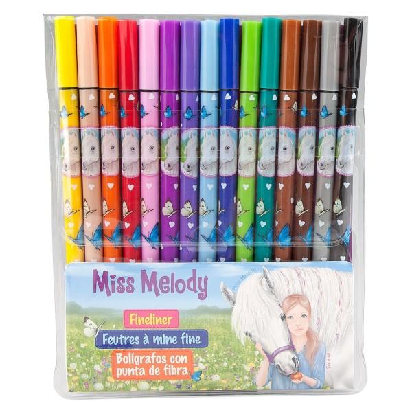 Ручки капиллярные, 15 цветов Miss Melody - 8807 производства Depesche