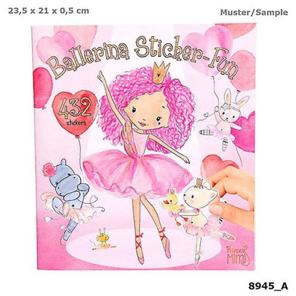 Альбом с наклейками Балерина Princess Mimi  - 8945_A производства Depesche