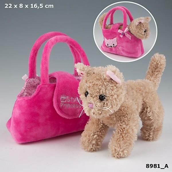 Плюшевая игрушка My Style Princess - Кот в сумке - 8981_A производства Depesche