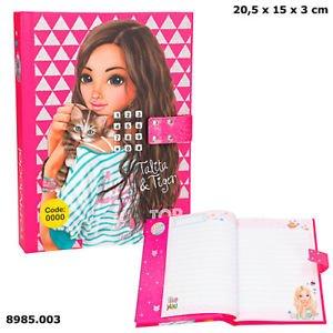 Дневник с кодом и музыкой, розовый TOPModel - 8985_C