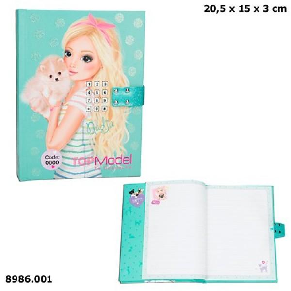 Дневник для записей с кодом и музыкой TOP Model - 8986_A производства Depesche