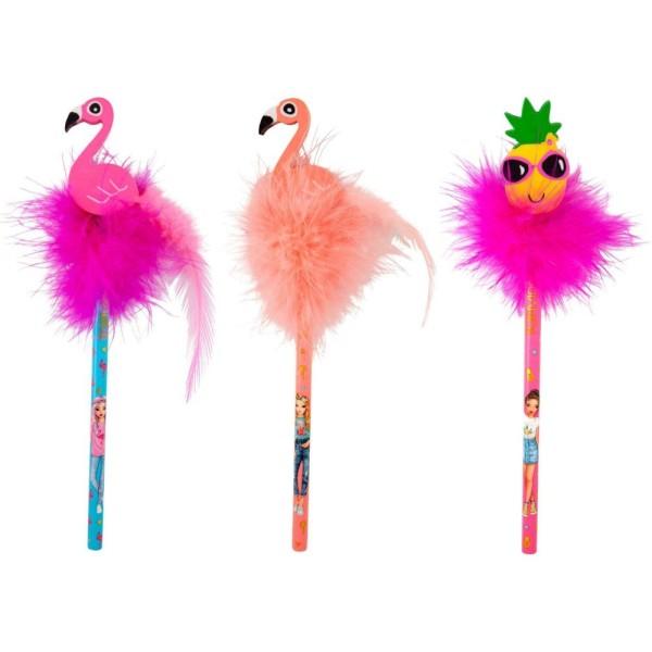 Карандаш простой с ластиком Фламинго TOPModel Flamingo - 9567_B