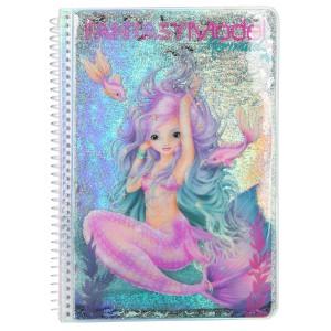 Альбом для раскрашивания TOPModel Fantasy Русалка - 10472 производства Depesche