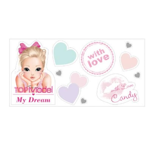 "Туалетная вода для девочек CANDY TOPModel ""My Dream""  50 ml  + наклейки (TM01)"