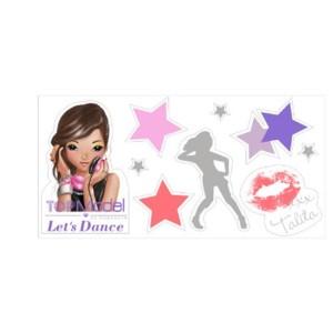 Туалетная вода с наклейками для девочек  TALITA « TOPModel Let's Dance » 50 ml (TM02) производства KOTO France