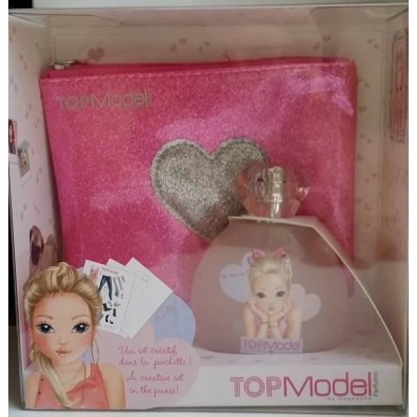 Туалетная вода для девочек CANDY «My Dream » TOP Model 50 ml + розовая сумочка + креативный набор (TM10) производства KOTO France