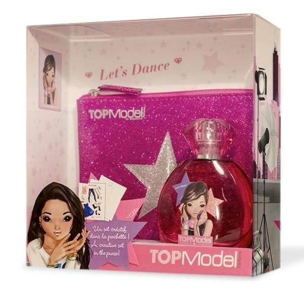 "Туалетная вода для девочек TOP Model Talita ""Let s  Dance"" 50 ml + розовая сумочка + креативный набор (TM11)"