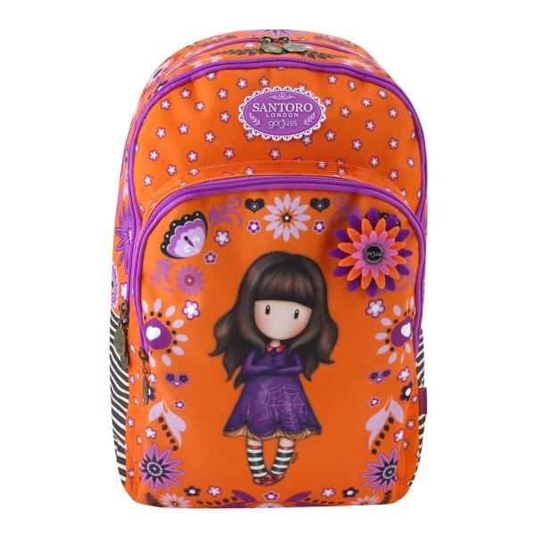 Рюкзак с карманом на молнии Santoro Fiesta - Cobwebs - 693GJ09